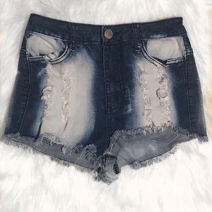 Cute High-Waist Shorts